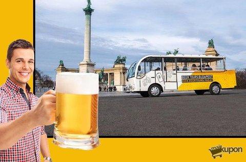 Sörbuszbérlés uraknak 30 liter csapolható sörrel