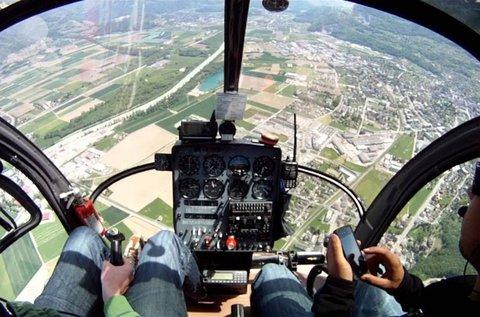 Balaton körüli élményhelikopterezés
