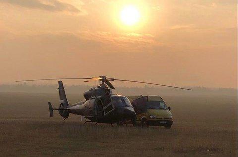 Élményhelikopterezés a Balaton körül