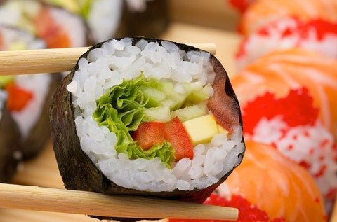 Ízletes sushi kombinációk a Buddha Originalban