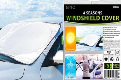 4 évszakos szélvédőtakaró autóra