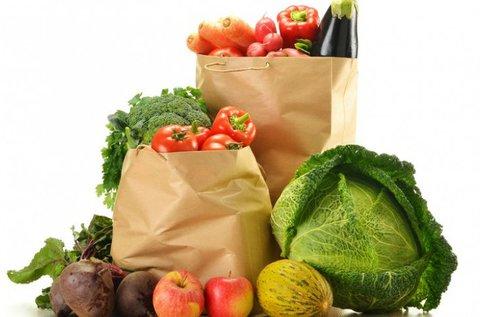 Kóstoló kosár 1-3 főre zöldséggel, gyümölccsel
