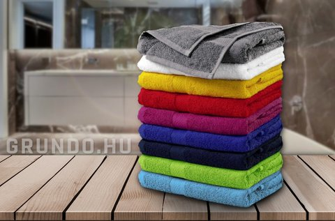 Nagyméretű, puha törölköző különböző színekben