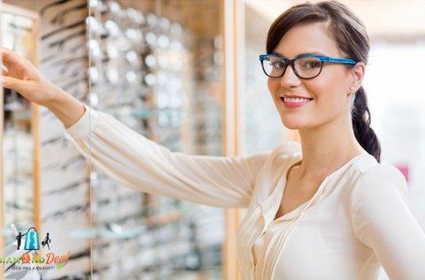 Komplett szemüveg UV szűrővel, látásvizsgálattal