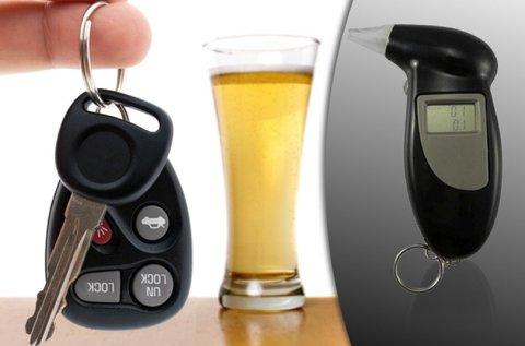 Multifunkciós digitális alkoholszonda