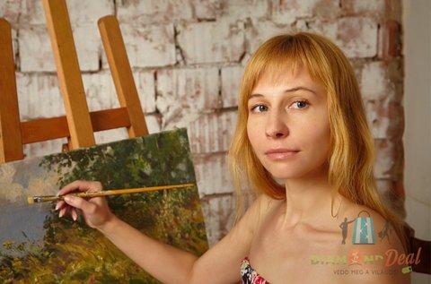 6 órás festő workshop eszközhasználattal