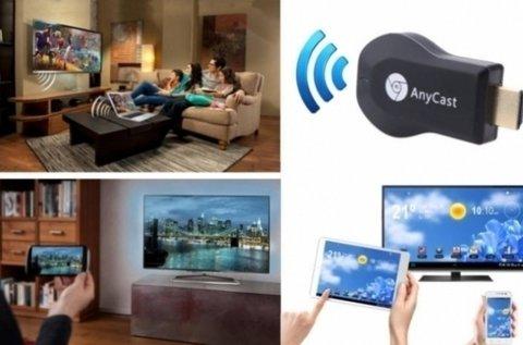 Wifi HDMI stick TV okosító eszköz