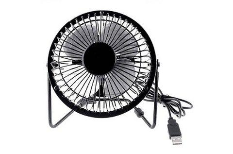 Asztali ventilátor USB csatlakozóval
