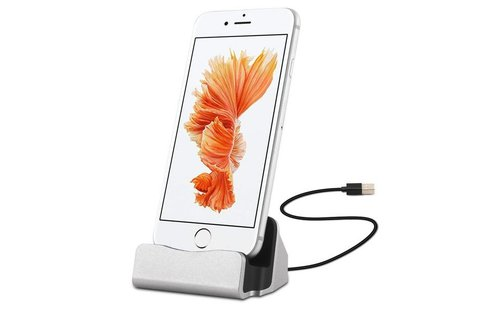 iPhone asztali töltő lightning csatlakozóval