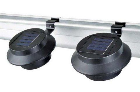 2 db napelemes lámpa cseppálló borítással