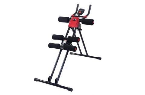 Otthoni edzőgép kar- és hasizom erősítéshez