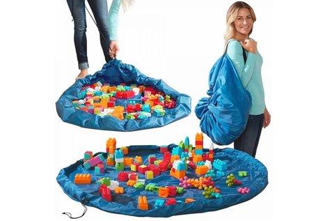 Összehúzható játékszőnyeg apró játékok számára