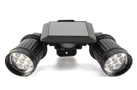 Kétágú solar LED lámpa mozgásérzékelővel