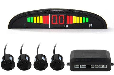 Tolatássegítő 4 db ultrahangos érzékelővel