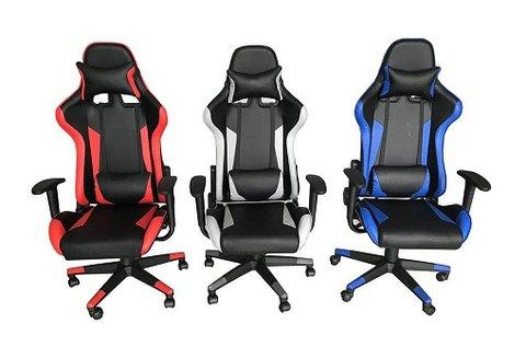 Kényelmes gamer szék 3 különböző színben