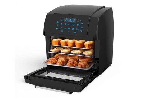 Digitális meleglevegős sütő grillezés funkcióval