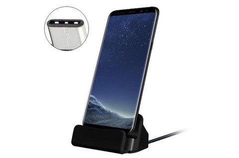 Univerzális USB C asztali töltő és tartó