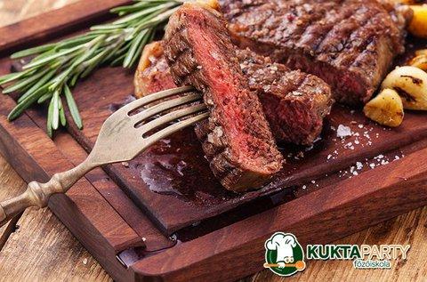 Steakre vágyva főzőkurzus 3 órában