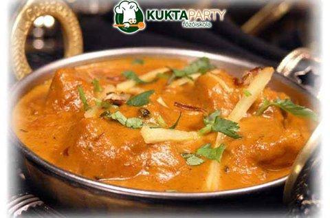 Egzotikus India főzőkurzus 3 órában