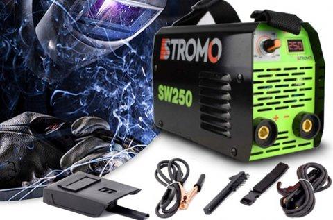 Stromo 250 A-s inverteres hegesztőtrafó pajzzsal