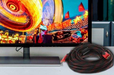 5 m-es HDMI kábel aranyozott csatlakozókkal
