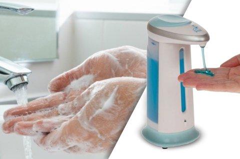 250 ml-es szappantartó érintésmentes adagolóval