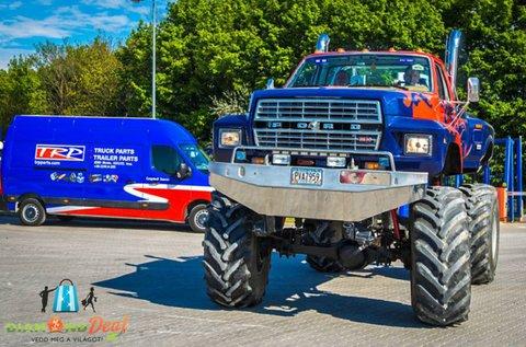 25 perces Ford F600 Truck élményvezetés