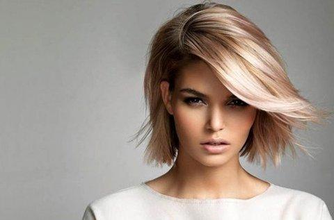 Profi hajvágás mosással, szárítással félhosszú hajra