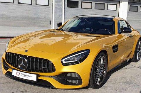 Mercedes AMG GT C élményvezetés 5 körön át