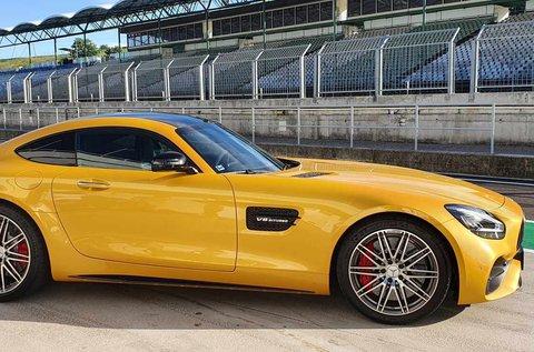 Mercedes-AMG GT 3 körös élményvezetés