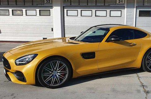 8 körös Mercedes-AMG GT C Coupé élményvezetés