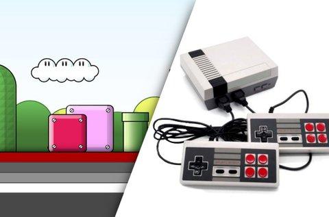 Mini retro videójáték konzol 621 beépített játékkal