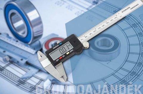 Flinke digitális tolómérő a pontos mérésért