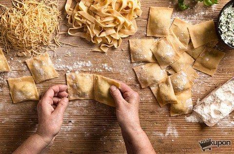 Főzőest olasz házi tésztákkal és szószokkal