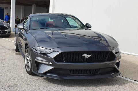 4 körös Ford Mustang GT vezetés a Hungaroringen