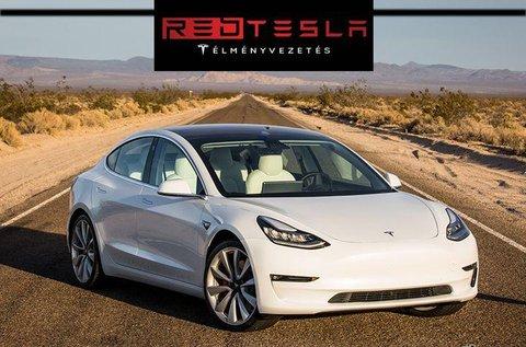 Hiper gyors Tesla Model 3 élményvezetés
