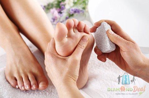 Teljes gyógypedikűr csomag az egészséges lábakért