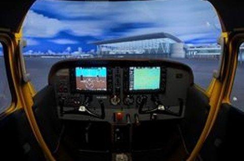 40 perc Cessna 172 repülős szimulátor vezetés