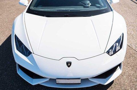 Lamborghini Huracan vezetés a Hungaroringen
