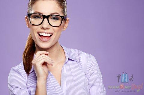 Komplett multifokális szemüveg kerettel