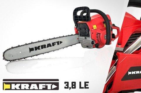 Kraft 3,8 lóerős benzines láncfűrész