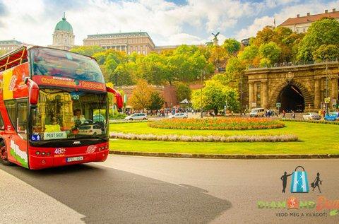 Budapesti városnézés busszal és sétahajóval