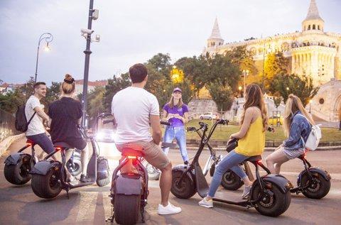 Fedezd fel Budapestet Luna Bike e-robogóval!