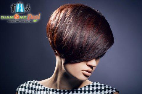 Új frizura rövid hajra festéssel vagy melírozással
