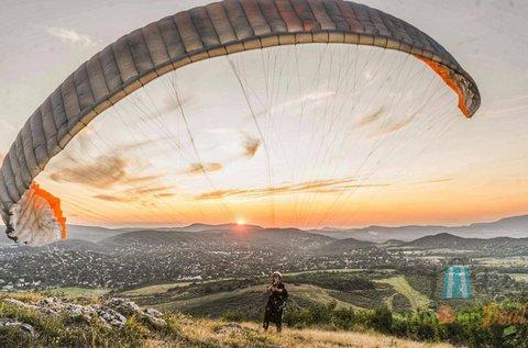 Tandem siklóernyős repülés ajándék FullHD videóval