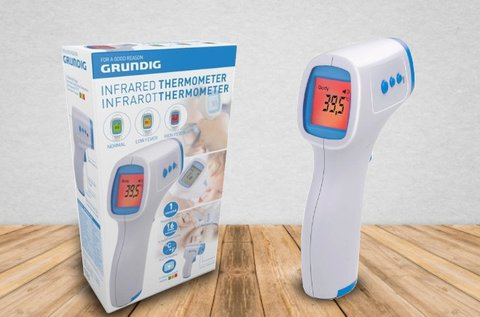 Grundig digitális lázmérő infravörös technológiával