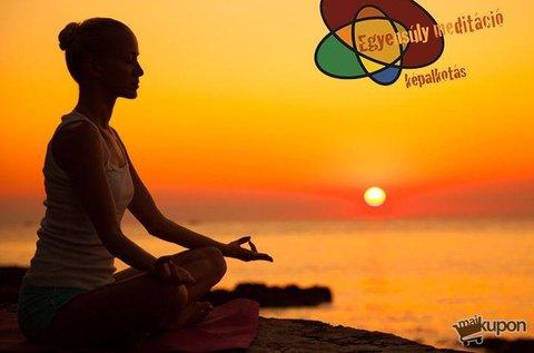 Mindfulness alapú online meditációs tanfolyam