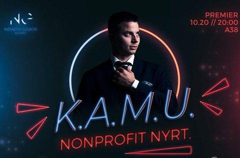 Újgenerációs bűvész est K.A.M.U. címmel
