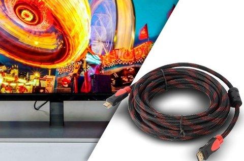 3 m hosszú HDMI kábel aranyozott csatlakozókkal