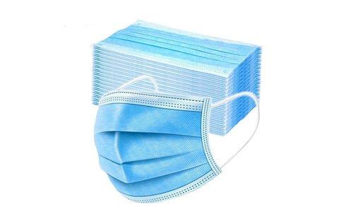 50 db háromrétegű egészségügyi szájmaszk